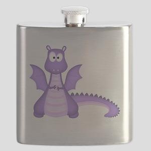 Purple Dragon Flask