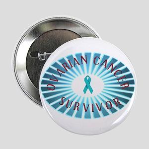OVARIAN CANCER SURVIVOR Button