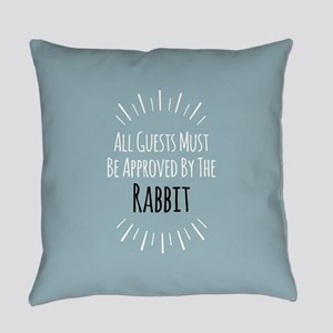 Rabbit Approved Everyday Pillow