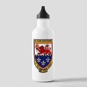 USS ELMER MONTGOMERY Stainless Water Bottle 1.0L