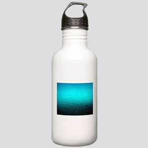 aqua blue water ombre Stainless Water Bottle 1.0L