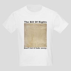 Bill Of Rights Fading Kids Light T-Shirt
