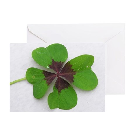 ...Lucky Clover... Note Cards (Pk of 10)
