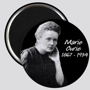 Marie Curie 1867 - 1934 Magnets