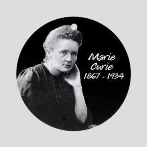 Marie Curie 1867 - 1934 Ornament (Round)