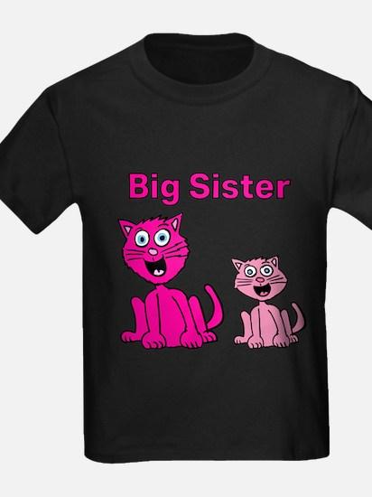 Big Sister cats T-Shirt