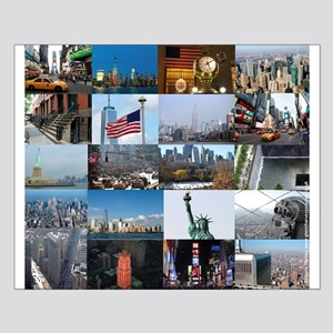 New York Pro Photo Montage-Stunning! Small Poster