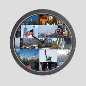 New York Pro Photo Montage-Stunning! Wall Clock