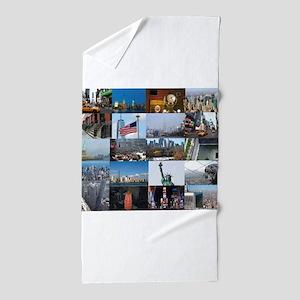 New York Pro Photo Montage-Stunning! Beach Towel