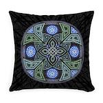 Celtic UFO Mandala Everyday Pillow