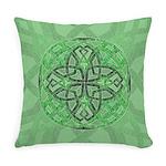 Celtic Clover Mandala Everyday Pillow