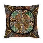 Celtic Aperture Mandala Everyday Pillow