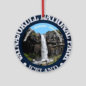Vatnajokull NP Round Ornament