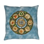 Celtic Wheel of the Year Everyday Pillow