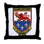 USS ELMER MONTGOMERY Throw Pillow