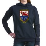 USS ELMER MONTGOMERY Women's Hooded Sweatshirt