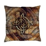 Celtic Rock Knot Everyday Pillow
