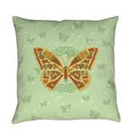 Celtic Butterfly Everyday Pillow