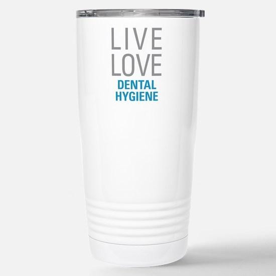 Dental Hygiene Stainless Steel Travel Mug