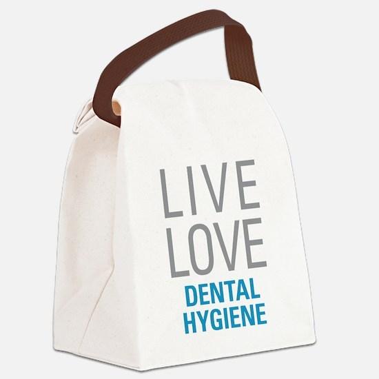 Dental Hygiene Canvas Lunch Bag