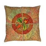 Celtic Autumn Leaves Everyday Pillow