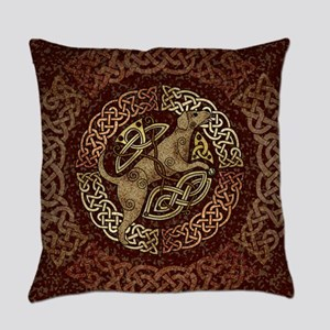 Celtic Dog Everyday Pillow