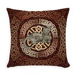 Celtic Cat Everyday Pillow
