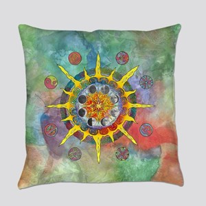 Celtic Stargate Everyday Pillow