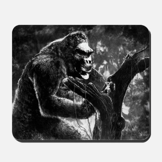 vintage king kong ape photo Mousepad