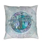Cool Celtic Dragonfly Everyday Pillow