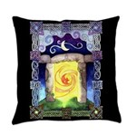 Celtic Doorway Everyday Pillow