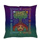 Celtic Tree of Life Everyday Pillow
