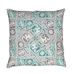 Celtic Puzzle Square Everyday Pillow