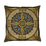 Celtic Compass Everyday Pillow