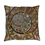 Celtic Steampunk Everyday Pillow
