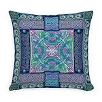 Celtic Atlantis Opal Everyday Pillow
