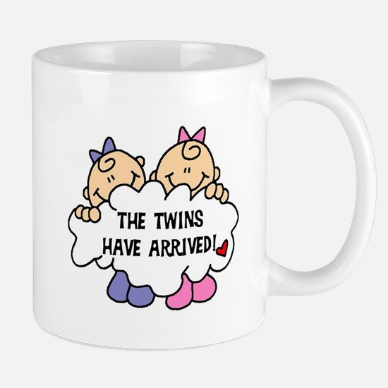 Twin Girls Arrived Mug