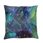 Dimensional Chill Abstract Everyday Pillow