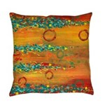 Fiesta Abstract Everyday Pillow