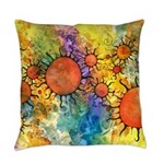 Primordial Suns 2 Everyday Pillow