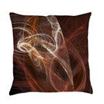Radiant Heat Fractal Everyday Pillow