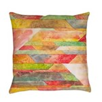 Crystal Colors Abstract Everyday Pillow
