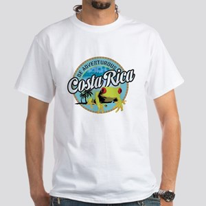 Costa Rica White T-Shirt