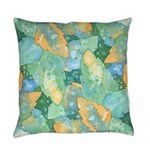 Early Frost Watercolor Everyday Pillow