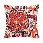 Poinsettia Power Everyday Pillow