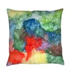 Breach of Containment Abstract Everyday Pillow