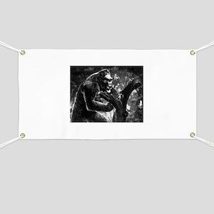 vintage king kong ape photo Banner
