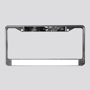 vintage king kong ape photo License Plate Frame