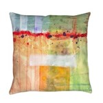 Colorfields Abstract Everyday Pillow