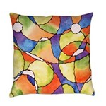 Carnival Balloons Everyday Pillow